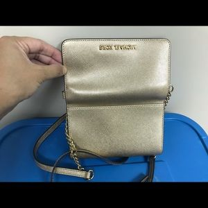 Michael Kors Bags - Michael Kors Tech Phone Gold Crossbody